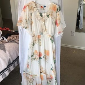 Anthropologie midi dress